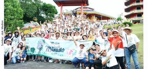Medion Wisata 2018, Jelajah Manado