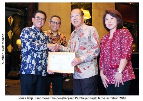 Penghargaan Wajib Pajak, Komitmen Medion Membangun Negeri