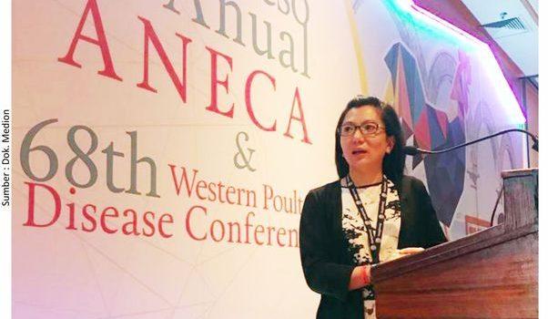 Medion Menjadi Narasumber di Konferensi Penyakit Unggas di Mexico