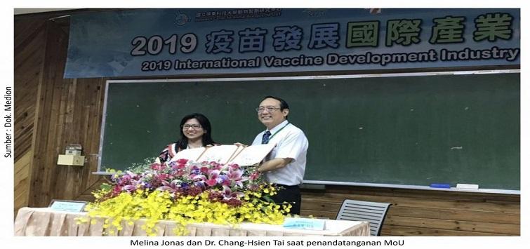 Bagi Ilmu di Konferensi Internasional Taiwan