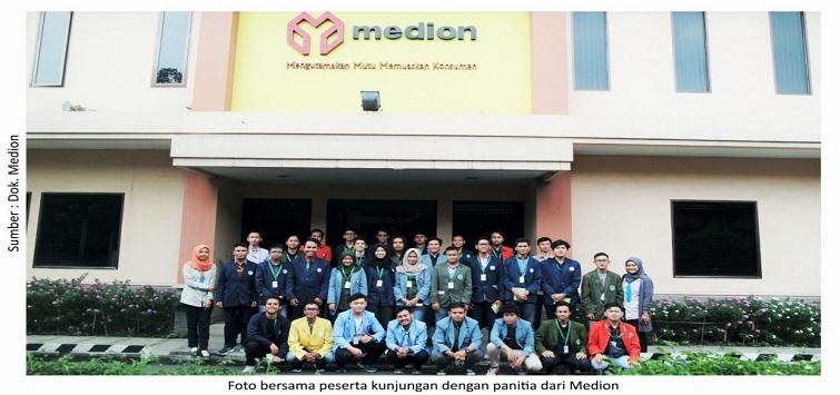 Medion Berbagi Ilmu Livestock 4.0 dengan Mahasiswa Teknik