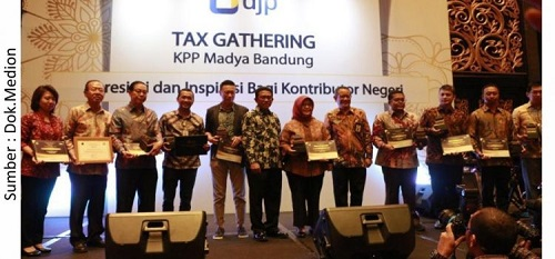 Taxpayer Award, Medion's Commitment to Build the Country