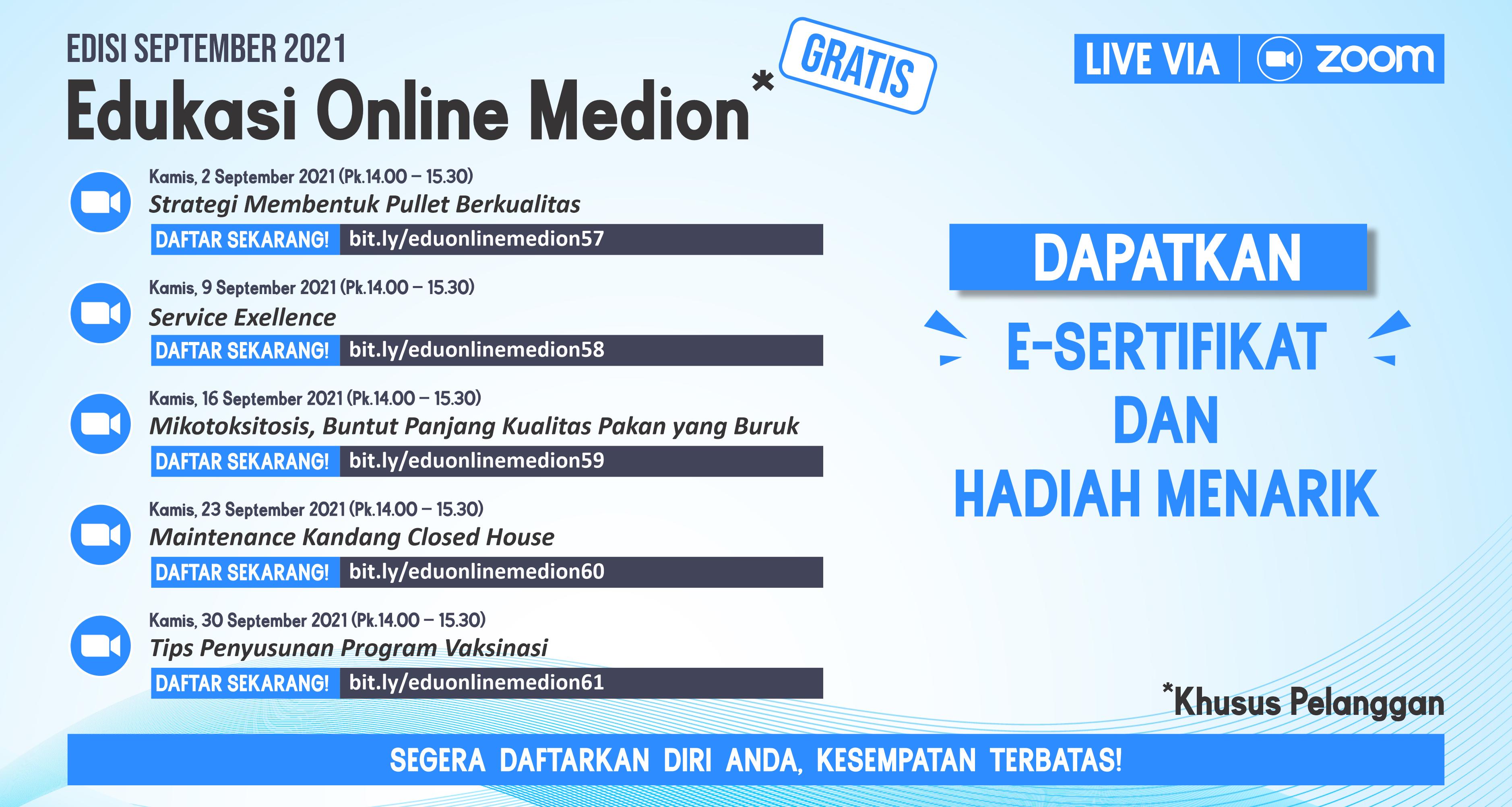 Edu Online Medion_September